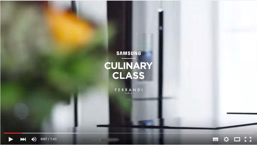 samsung culinary class